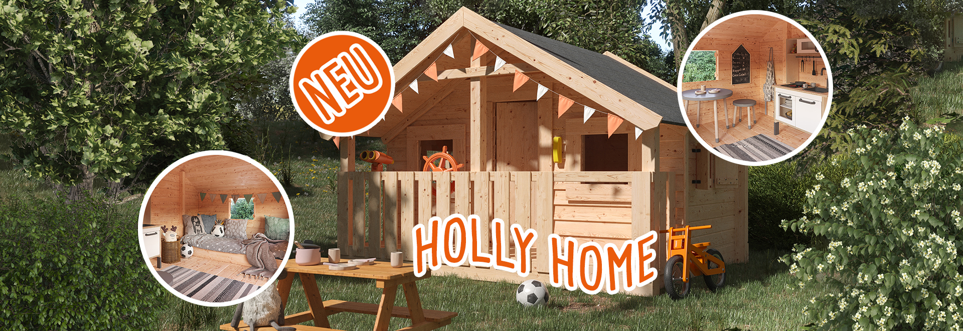 Spielhaus Holly Home